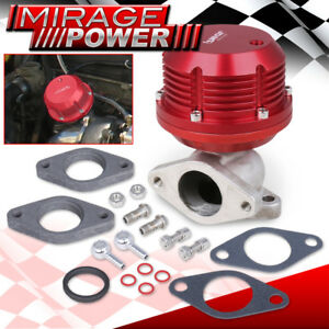 35mm 38mm 8psi Turbo Charger External Wastegate Waste Gate Spring Loaded Red
