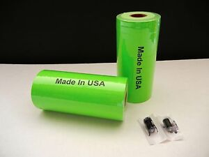 Two Sleeves Green Labels For Monarch 1110 1105 1107
