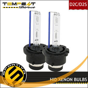 D2r Hid Xenon Low Beam Headlight Replacement Bulbs For 2004 2005 Subaru Wrx Sti