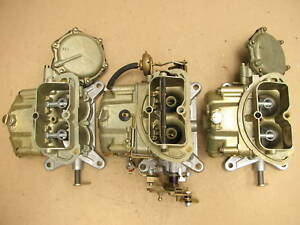 68 69 Corvette 3659 4055 Tri power Holley Carburetors 427 435 Dated Tripower