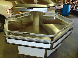 Heated Octagon Display Hot Food Merchandiser Dil6wh