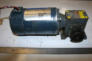 1 4 Hp Electric Motor W Righ Angle Speed Reducer