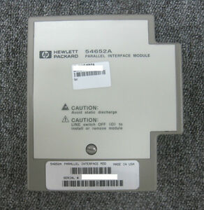 Hp agilent_54652a Parallel I o Module For 54600 Series