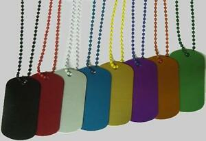 500 Colored 24 Bead Chain 3 Ball Chain Ballchain Only Gi Dog Tags In Store