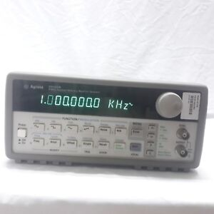 Hp agilent_33120a Function Arbitrary Waveform Generator 15 Mhz