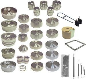 Brake Lathe Platinum Cone Adapter Silencer Set 1 Bore For Ammco And Others