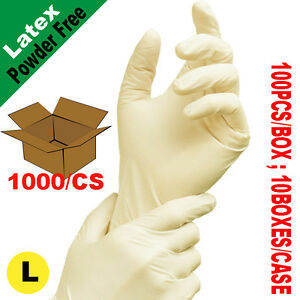 Sunnycare 1000 Latex Disposable Gloves Powder Free Vinyl Nitrile Exam Free L