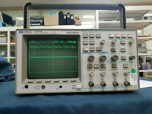 Hp agilent_54601b 4 Channel 100 Mhz Oscilloscope