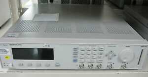 Hp agilent_81104a Pulse Pattern Generator 80 Mhz With 81105a 2ea