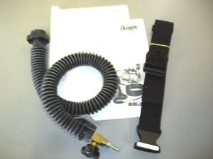 Drager Safety 4055182 Pentair Adjustable Flow Tube With Mask Connector