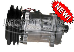 A c Compressor W clutch For Sanden 4478 4609 New