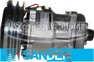 Sanden 4478 4609 Compressor W clutch New Oem