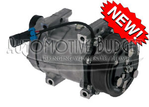 A c Compressor W clutch For Sanden 4417 4485 4818 New