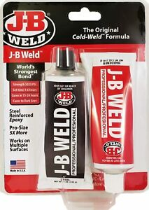 New J B Weld 8281 Industrial Professional Large 10oz Cold Weld Adhesive Usa