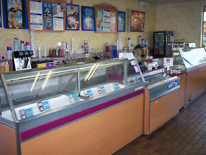 Complete Baskin robbins Ice Cream Store Equipment Pkg