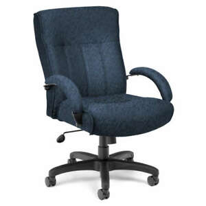 Executive Manager Mid Back Computer Office Chair 400lbs