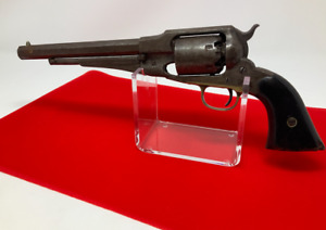 Acrylic Pistol Stand Display For Collectable Antique Civil War Colt Pistol
