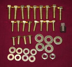 Maytag Gas Engine Model 72 Brass Bolt Set Hit Miss