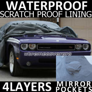 2011 Dodge Challenger Waterproof Car Cover W Mirrorpock