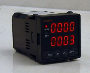 Digital Timer Counter Tachometer 12 24 Vdc Powered