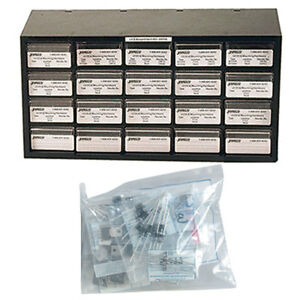 Jameco Valuepro Diode Kit 420 Piece Diode And Rectifier Component Kit