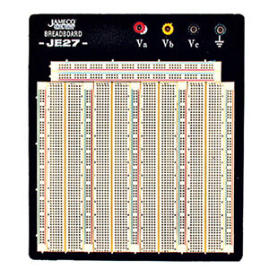 Wbu 208 r 3220 point Solderless Breadboard 7 3 l X 7 5 w Protoboard