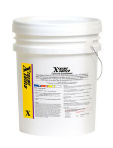 Xtreme Shield Sealer Concrete 5 Gal Burnish Floor Seal Shine Protect Top Coat