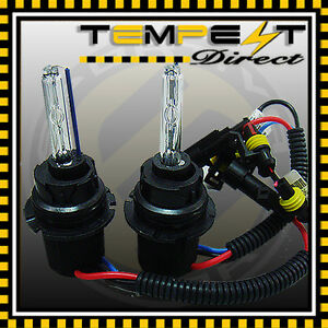 Hid Conversion Replacement Bulb 9007 Hb5 Bi Xenon High Low Flex W Relay Harness