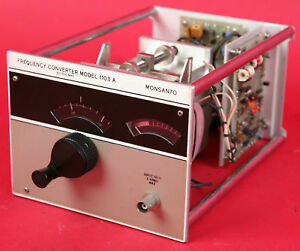 Monsanto Electronic Frequency Converter 50 500 Mhz 1103