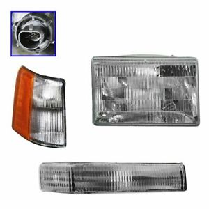 Headlights Parking Corner Lights Passenger Side Right Rh For Grand Cherokee