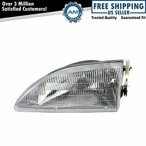 Headlight Headlamp Driver Side Left Lh New For 94 98 Ford Mustang