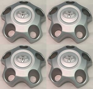 2007 2017 Toyota Tundra 18 5 spoke Steel Wheel Center Hub Caps Set Of 4