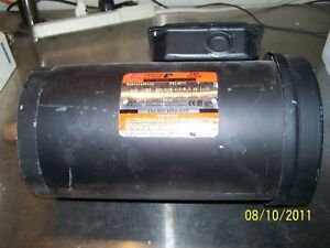 Reliance Electric 1 5hp Duty Master Ac Motor Sxe Plus