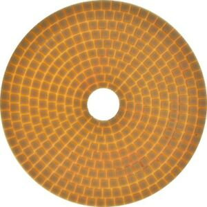 3500 Grit 7 Resin Grind Polish Edge Pad Concrete Floor Angle Grinder