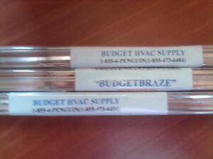 Silver Brazing Rod flow Matches 15 budgetbraze 3 Lb