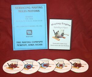 Maytag Hit Miss Gas Engine Motor How To Model 92 Video Series Dvd Book