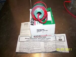 Asco Red hat Valves 8320a 24mo 120 60vac 3 way Solenoid Valve 1 4 In Npt
