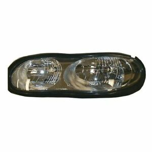 Headlight Headlamp Driver Side Left Lh New For 98 02 Chevy Camaro