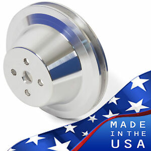 Small Block Ford Water Pump Pulley 289 302 351w V belt Sbf 1 Groove Billet
