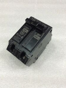 Thhqb2160 General Electric Circuit Breaker 2 Pole 60 Amp 240 Vac New
