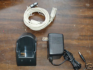 Metrologic 99 99011 Scanpal 2 Scanpal2 Docking Cradle Serial Rs232 With Cables