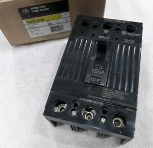 Tqd32150wl Ge Circuit Breaker 3 Pole 150 Amp 240 Vac New In Box