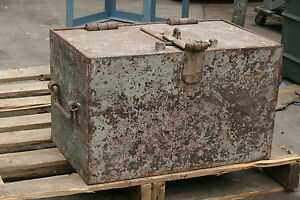 Antique Lockable Strong Box