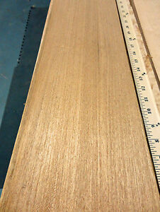 Teak Quarter Cut freijo Wood Veneer 7 X 111 Raw With No Backing 1 42 Thick