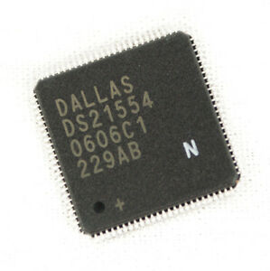 Dallas Semiconductor Component Ds21554ln Hdlc 5v 100 pin Transceiver Lot 10