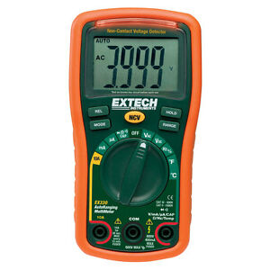 Extech Ex330 Extech Ex330 Digital Multimeter Autorange Temp voltage Detector