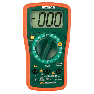 Extech Instruments Mn35 Manual Ranging Digital Mini Multimeter