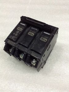 Thhqb32020 General Electric Circuit Breaker 3 Pole 20 Amp 240 Vac New