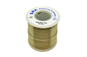 Lead Free Solid Core Silver Solder 96 4 045 inch 1 pound Spool