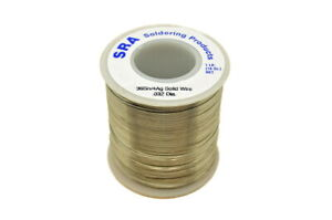 Lead Free Solid Core Silver Solder 96 4 020 inch 1 pound Spool